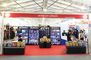 ACDelco on the 40th Bangkok International Motor Show